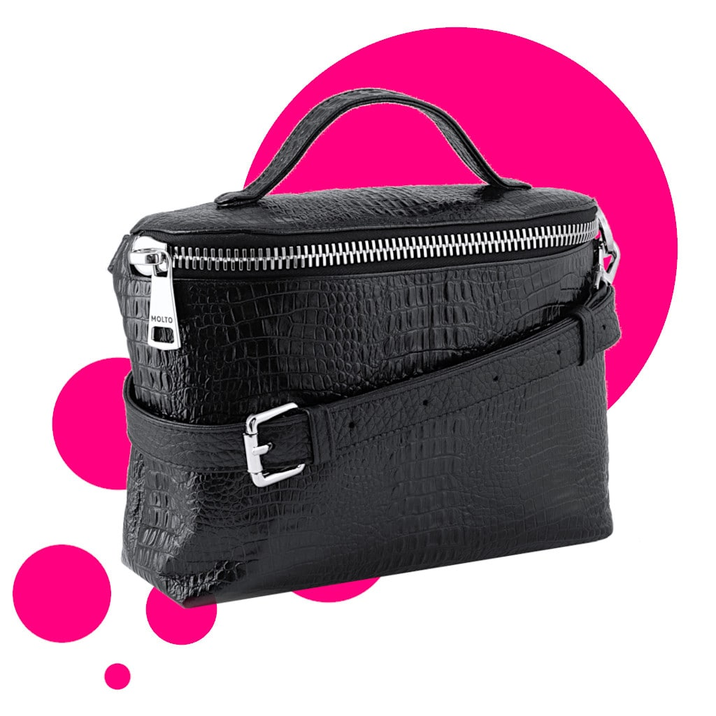 Collection Why not - Crossbody Vanity Bag Black