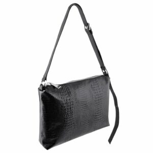 Crossbody Messenger Bag Black Schoolbag MOLTO