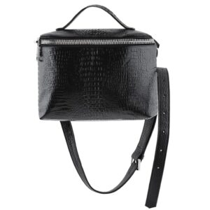 Crossbody Vanity Bag Black Top Handle MOLTO