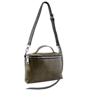 Crossbody Vanity Bag Olive green handbag MOLTO