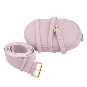 OLEŃKA Pink Belt Bag by MOLTO