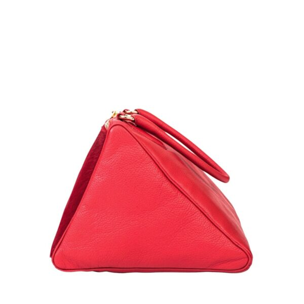 TRIAD Red Shoulder Bag Side View by MOLTO