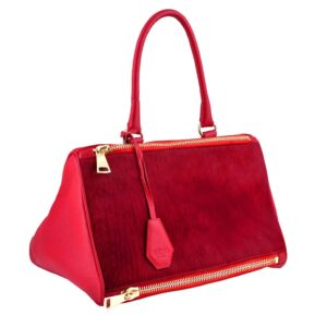 TRIAD Red Shoulder Bag by MOLTO